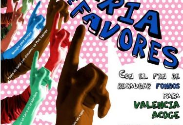 Subasta Solidaria de Favores Valencia Acoge