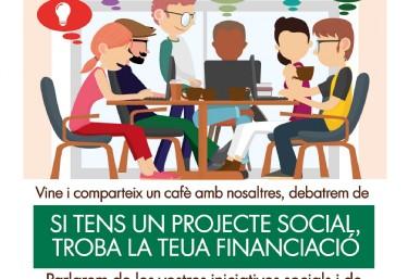 CafeEnclau, iniciativas socials i finances ètiques