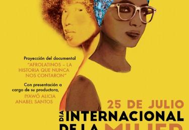 Actos Dia Internacional de la mujer afrodescendiente