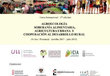Curso de Agroecología y Soberanía Alimentaria 2017-2018