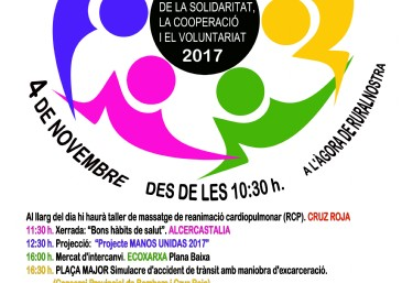 FIRA DE LA SOLIDARITAT, LA COOPERACIÓ I EL VOLUNTARIAT