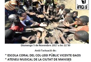 X CONCERT SOLIDARI PROJECTE KIZIGURO (RWANDA)