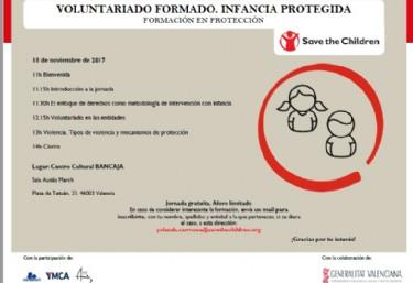 Formación voluntariado en protección