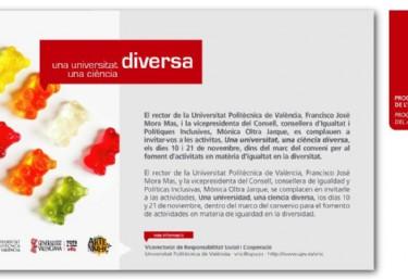 """Jornada """"Una Universitat Diversa, una Ciència Diversa"""""""