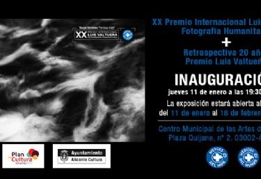 Inauguración Exposición fotográfica del Premio Internacional de Fotografía Humanitaria, Luis Valtueña