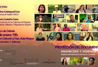 Proyección del documental  documental