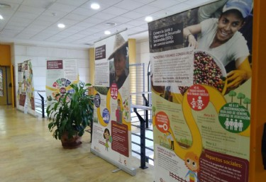 La exposición sobre los ODS y el Comercio Justo llega a Sagunto