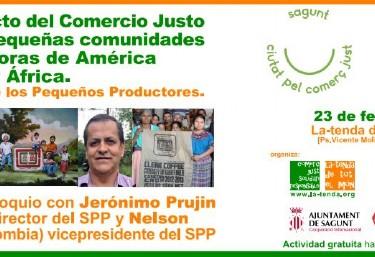 CHARLA-COLOQUIO: El impacto del Comercio Justo en las pequeñas comunidades productoras de América Latina y África. El Sello de los Pequeños Productores (SPP)