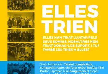 """L´exposició """"Teixint complicitats, compartint reptes de futur entre Tunísia i Els Ports"""" arriba a Vilafranca."""
