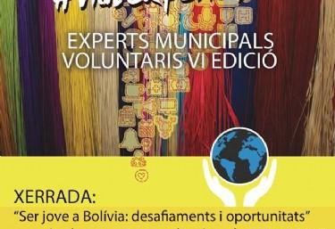 Laura Pons presenta a Sueca la seua experiència com a voluntària del Fons amb joves de Bolívia