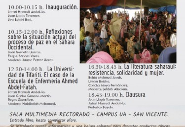 III Jornadas: Sáhara Occidental y las Universidades Públicas Valencianas