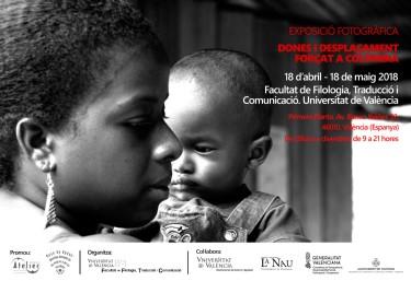 Exposició fotogràfica Dones i desplaçament forçat a Colòmbia