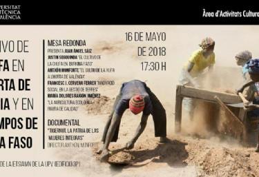 Mesa Redonda sobre el cultivo de la chufa en Valencia y Burkina Fasso, y Presentación de Documental