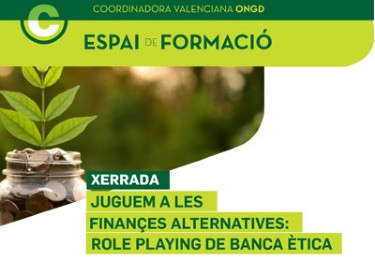 XERRADA: Juguem a les finances alternatives: role playing de banca ética