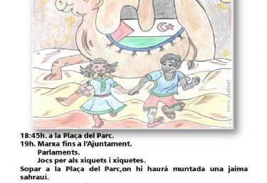 Trobades de xiquetes i xiquets saharahuis en La Vall D´Uixò