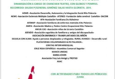 X Feria de Voluntariado en Segorbe (Castellón)