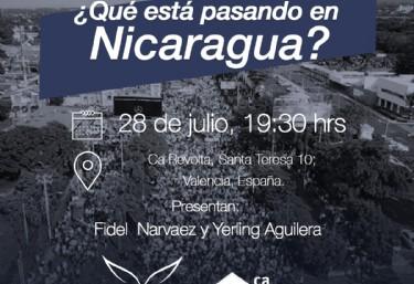 ¿Que esta pasando en Nicaragua? Caravana de solidaridad internacional con Nicaragua
