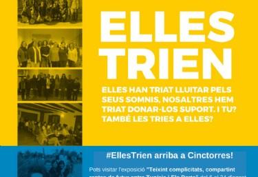 Exposició i col·loqui #EllesTrien a Cinctorres