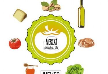 El mercado agroecológico llega a la UPV