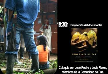 Charla: Comunidad de paz de San José de apartadó