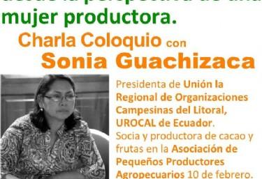 Charla Coloquio con Sonia Guachizaca / SPP Ecuador