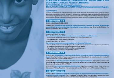 Abierta matricula del Curso: MIGRACIONES FORZADAS: CAUSAS Y CONSECUENCIAS EN UN MUNDO GLOBALIZADO