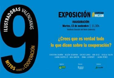 Inauguración de la Exposición #CooperarMejor