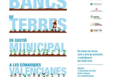 Jornada: Los Bancos de tierra como herramientas de promoción y revitalización del medio rural