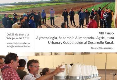Abre inscripciones el VIII Curso de Agroecología y Soberanía Alimentaria impulsado por FIAES