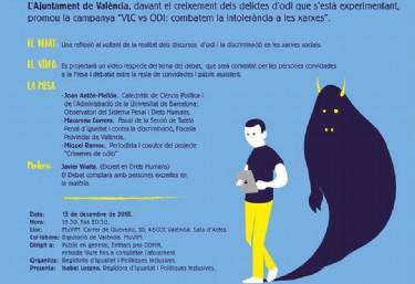 València vs ODI. DEBAT: Combatem L´odi a les Xarxes