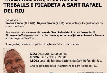 Taula Rodona, mostra detreballs i pacaeta a Sant Rafael del Riu