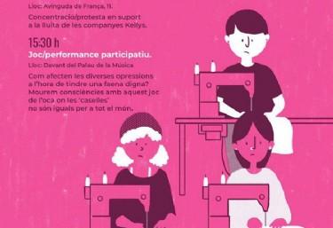 8 dies de revolta feminista:Laboral