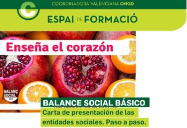 Balance Social Básico- carta de presentación de las entidades sociales. Paso a paso y problemas.