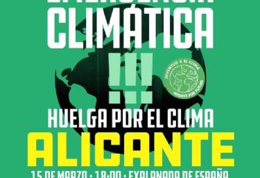 15M Concentración Gran Viernes por el Clima en Alicante #FridaysForFuture