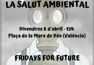 Huelga Internacional Por El Clima en Valencia #FridaysForFuture