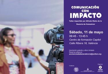 TALLER: Comunicación con impacto en entrevistas y vídeos