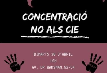 Concentració NO ALS CIE