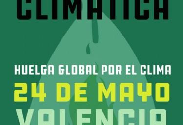 Manifestación para el clima
