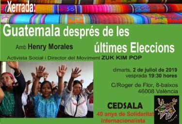 Guatemala després de les últimes eleccions