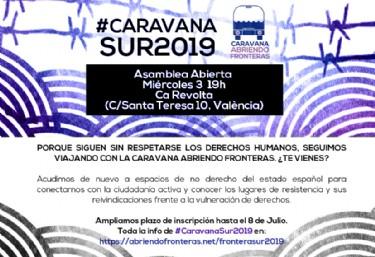 Asamblea abierta de trabajo #CaravanaSur2019