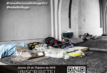 Censo de personas sin hogar en Valencia