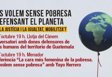 GUATEMALA, l´eterna segrestada. Conversatori amb dones defensores del territori a Guatemala