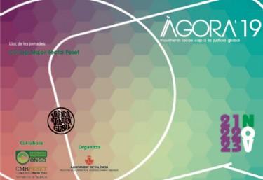 Oberta l´inscripció en les Jornades ÀGORA ONGD 2019, Trobada anual de tots els agents de la cooperació internacional en el àmbit de la ciutat de València