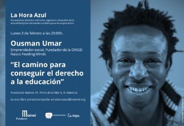 Encuentro abierto con Ousman Umar: