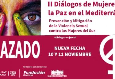 APLAZADO II Diálogos de mujeres por la paz en el Mediterráneo