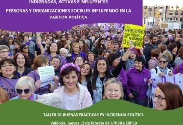 Taller: Intercambio de buenas prácticas en incidencia política