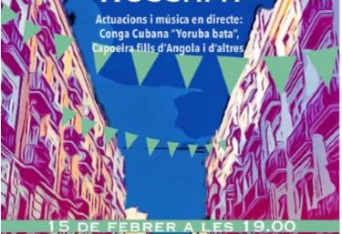 Festa Carnestoltes de Russafa, actuacions i música en directe