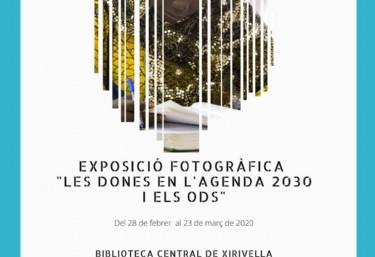 """Exposició fotogràfica """"Les dones en l'agenda 2030 i els ods"""