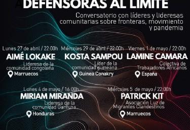 Conversatorio con AIMÉ LOKAKE: Colectiva de Trabajadores Africanos