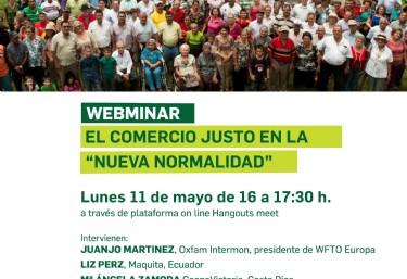 WEBMINAR - El comercio justo en la